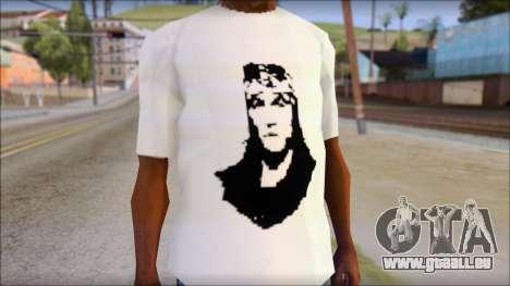 Axl Rose T-Shirt Mod pour GTA San Andreas troisième écran