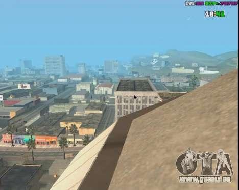Click Warp pour GTA San Andreas troisième écran