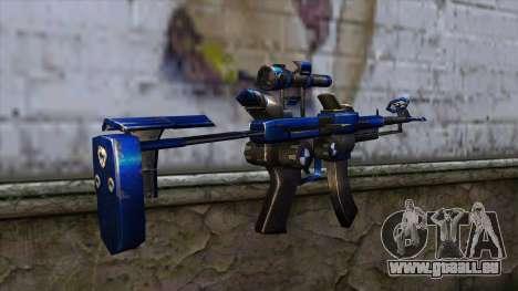 CartBlue from CSO NST pour GTA San Andreas deuxième écran