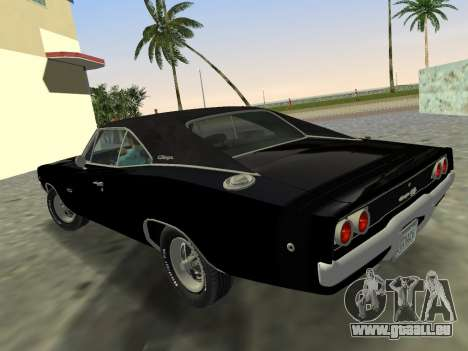 Dodge Charger RT 426 1968 für GTA Vice City linke Ansicht