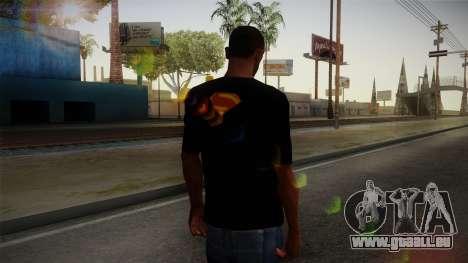 Man of Steel T-Shirt pour GTA San Andreas deuxième écran