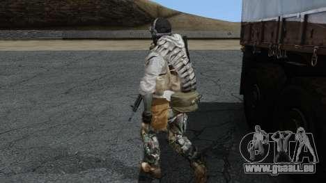 Army Ghost v1 pour GTA San Andreas deuxième écran