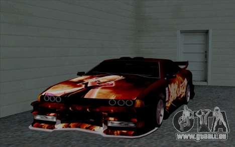 Travaux de peinture pour Yakuza Élégie pour GTA San Andreas vue intérieure