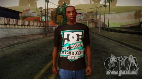 DC Shoes USA T-Shirt pour GTA San Andreas
