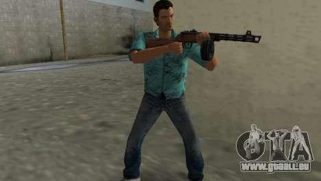 Pistolet Mitrailleur Shpagina pour GTA Vice City