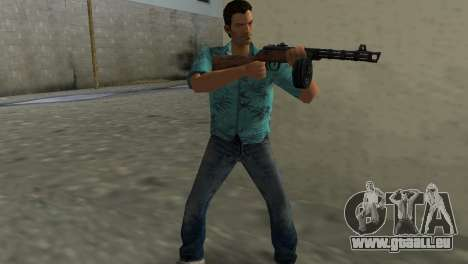 Maschinenpistole Shpagina für GTA Vice City