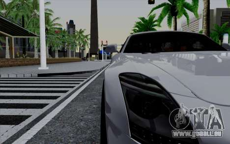 ENBSeries pour les faibles PC v3 [SA:MP] pour GTA San Andreas troisième écran