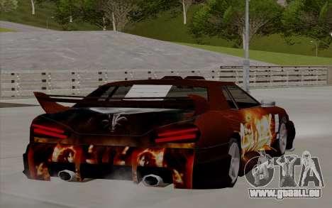 Malerarbeiten für Yakuza Elegie für GTA San Andreas linke Ansicht