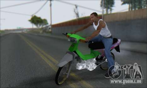 Kawasaki Kaze R pour GTA San Andreas laissé vue