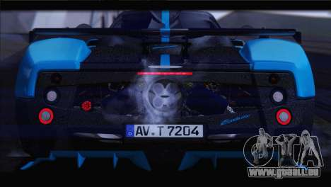 Pagani Zonda UNO für GTA San Andreas Innenansicht