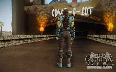 Sub Zero Skin pour GTA San Andreas deuxième écran
