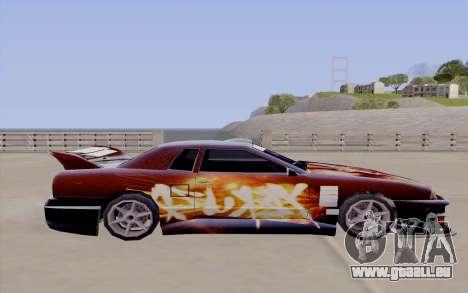 Malerarbeiten für Yakuza Elegie für GTA San Andreas Rückansicht