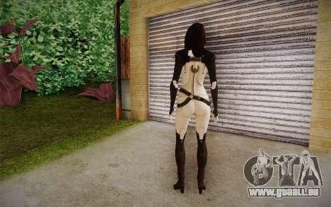 Miranda from Mass Effect 2 für GTA San Andreas zweiten Screenshot