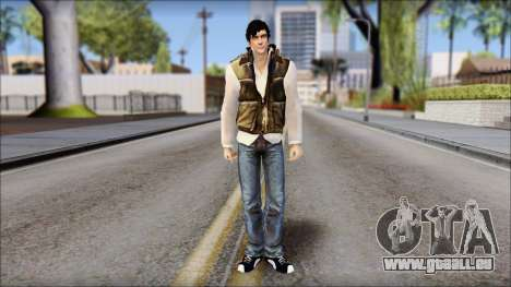 Alex from Prototype Alpha Texture für GTA San Andreas