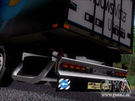Прицеп Windows Vista Ultimate pour GTA San Andreas vue de côté