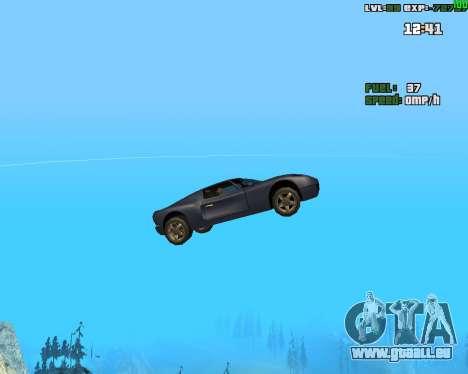Crazy Car pour GTA San Andreas troisième écran