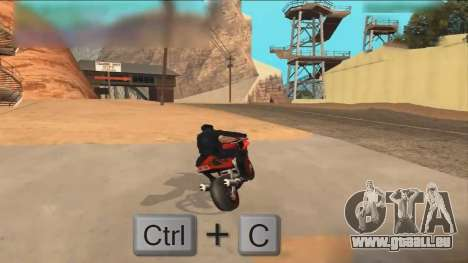 Car Hack pour GTA San Andreas deuxième écran