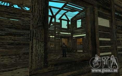 Das Haus von Call of Duty 4 für GTA San Andreas dritten Screenshot