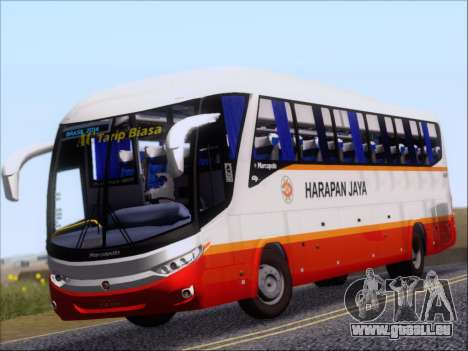 Marcopolo Paradiso 1200 Harapan Jaya für GTA San Andreas linke Ansicht