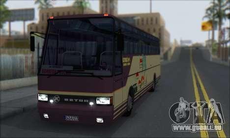 Setra S215 HD pour GTA San Andreas laissé vue
