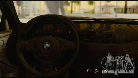 BMW M3 E46 für GTA San Andreas zurück linke Ansicht