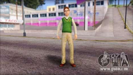Donald from Bully Scholarship Edition für GTA San Andreas zweiten Screenshot