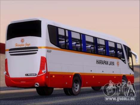Marcopolo Paradiso 1200 Harapan Jaya für GTA San Andreas rechten Ansicht