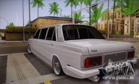 Peykan 1600i Limo pour GTA San Andreas laissé vue