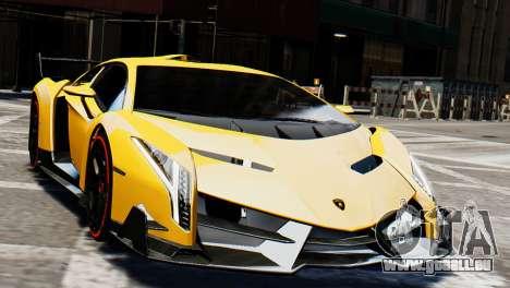 Lamborghini Veneno 2013 pour GTA 4