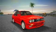 BMW M3 (E30) 1987 für GTA Vice City