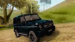 Mercedes-Benz G65 Black Square Pattern für GTA San Andreas