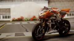 Kawasaki Z1000 2014 für GTA San Andreas