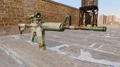 Automatique carabine, MAIS l'OTAN Camo
