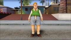 Algernon from Bully Scholarship Edition pour GTA San Andreas