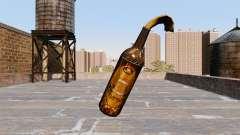 Le Cocktail Molotov De La Bière De Vecteur