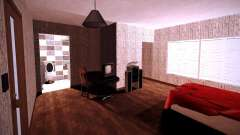 Das innere der Wohnung