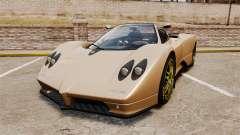 Pagani Zonda C12S Roadster 2001 v1.1 pour GTA 4