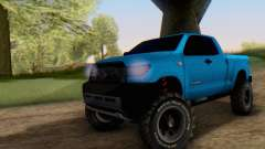 Toyota Tundra OFF Road Tuning Blue Star für GTA San Andreas