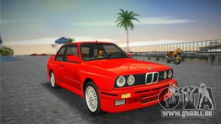 BMW M3 (E30) 1987 pour GTA Vice City
