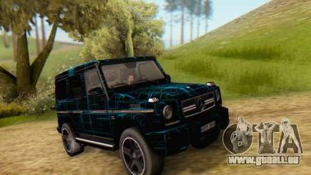Mercedes-Benz G65 Black Square Pattern für GTA San Andreas