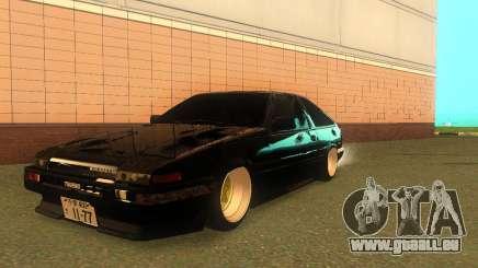 Toyota Corolla AE86 Trueno JDM pour GTA San Andreas