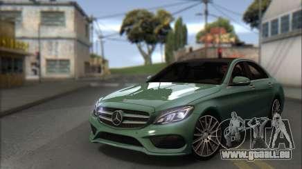 Mercedes-Benz C250 V1.0 2014 pour GTA San Andreas
