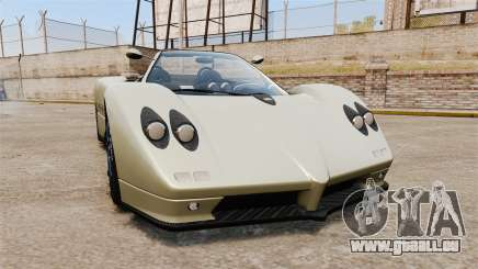 Pagani Zonda C12S Roadster 2001 v1.1 PJ1 pour GTA 4