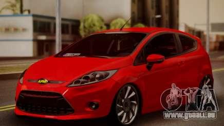 Ford Fiesta Turkey Drift Edition pour GTA San Andreas