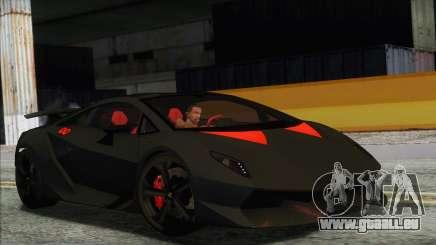 Lamborghini Sesto Elemento Concept 2010 für GTA San Andreas