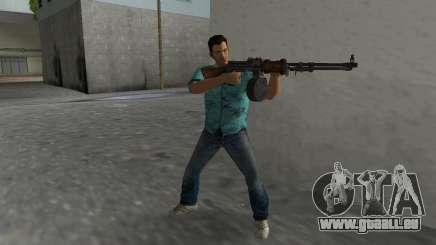 Degtyaryov Manuel de l'Mitrailleuse pour GTA Vice City