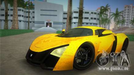 Marussia B2 2010 pour GTA Vice City