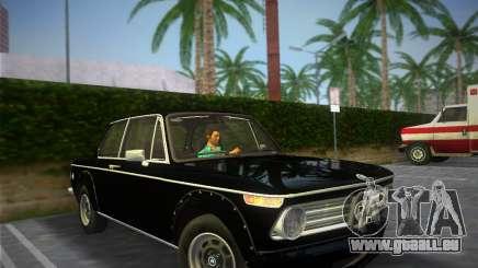 BMW 2002 Tii (E10) 1973 für GTA Vice City
