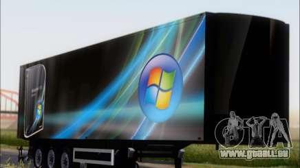 Прицеп Windows Vista Ultimate für GTA San Andreas