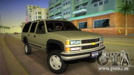 Chevrolet Suburban 1996 GMT400 pour GTA Vice City